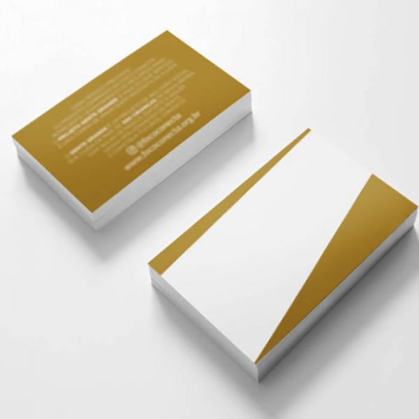 Cartão de Visita Papel Reciclado