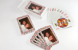 Baralho com Foto Com 54 Cartas