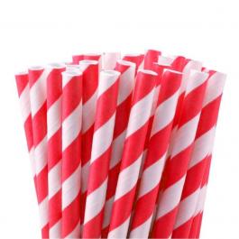 Caixa de Canudo de Papel Canudo de Papel Ecológico    Caixa com 100 Canudos