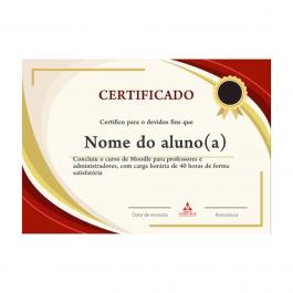 Certificado Papel Couchê 300g 21x30cm = a4