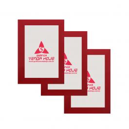 Quadro em Mdf 3mm Mdf Adesivado  Colorido Frente Com Laminação Fosca