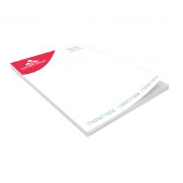 Receituário 15x21cm Colorido Frente e Verso Papel Reciclado 90g    Bloco com 100 Folhas