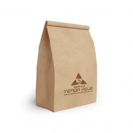 Saco Para Delivery até 10 kg Papel Kraf 22x35x11,5 1 cor preto